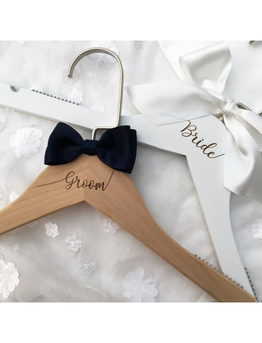 Arielle Bridal Wooden Hanger