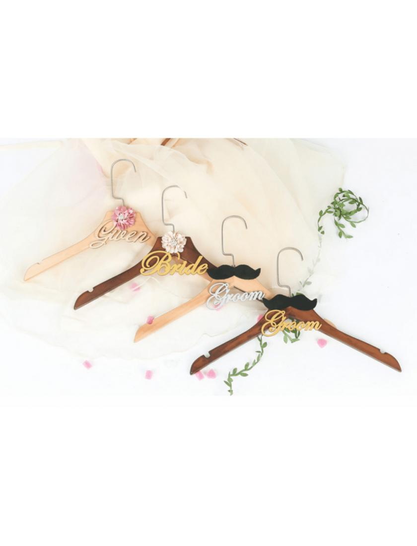 Halette Bridal Wooden Hanger