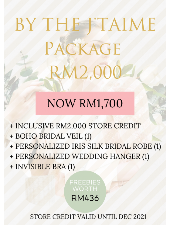 4. BY THE J'TAIME Package | RM2,000