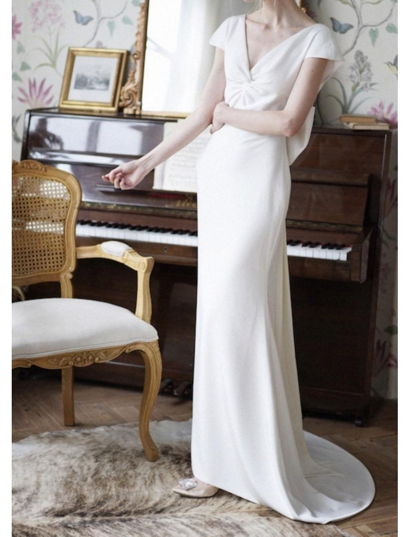 Couture Collection   Louvre Dress (Ivory White)