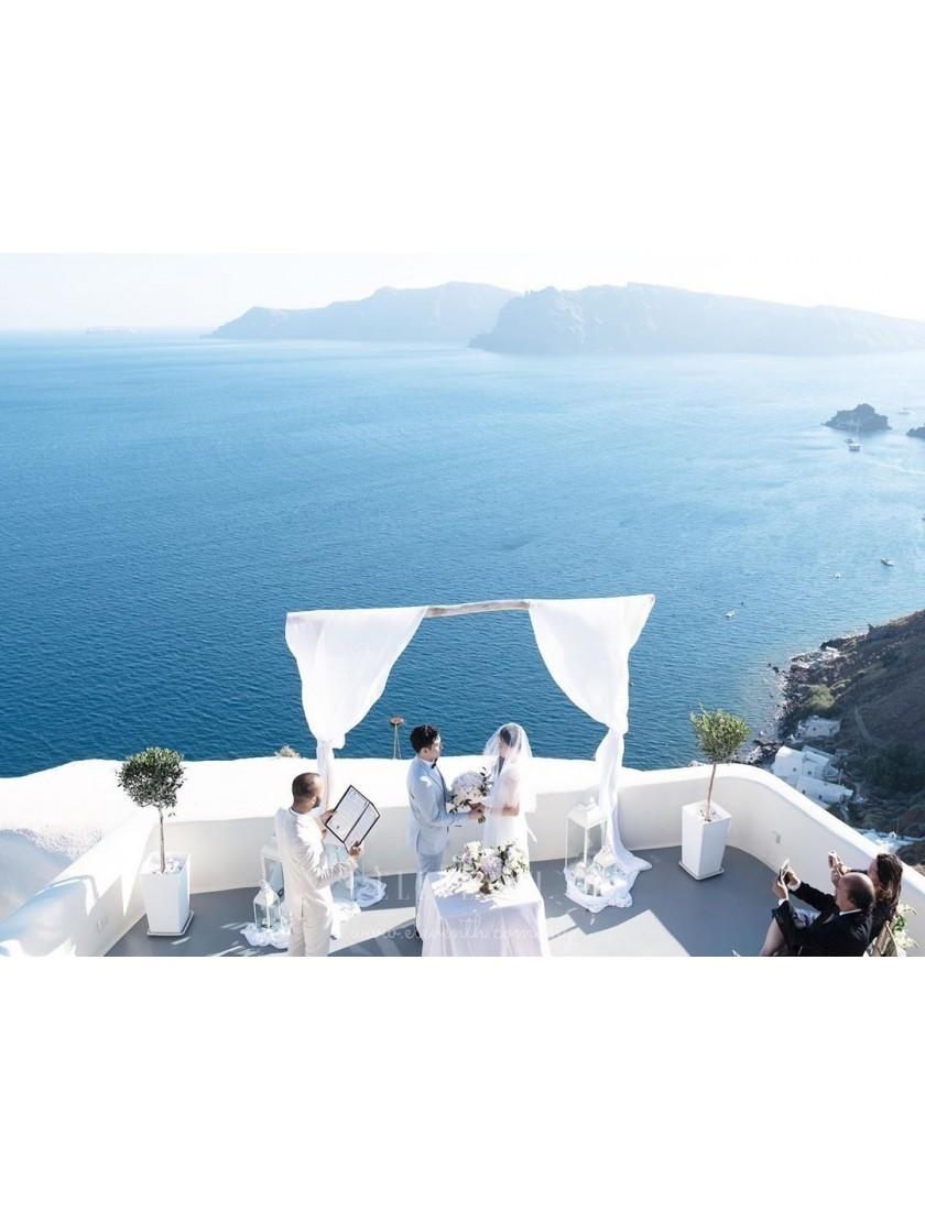 Mirella Convertible Dress (White)