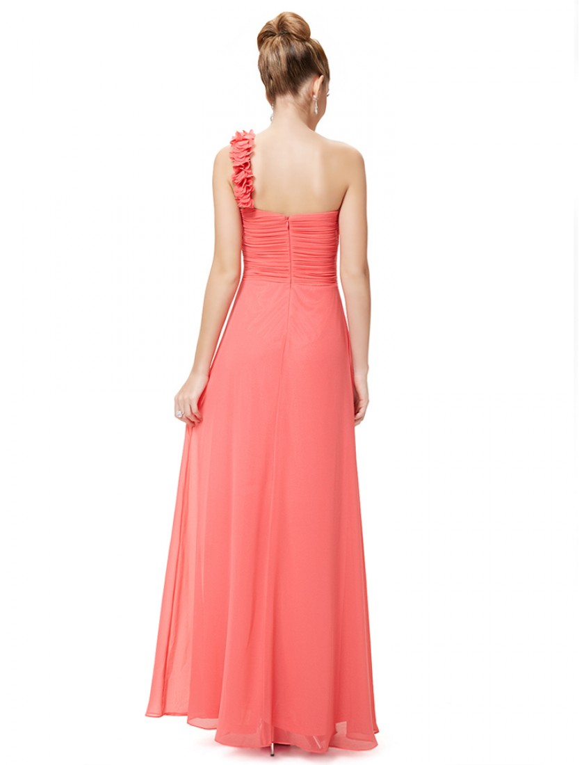 Candelaria Dress (Coral)