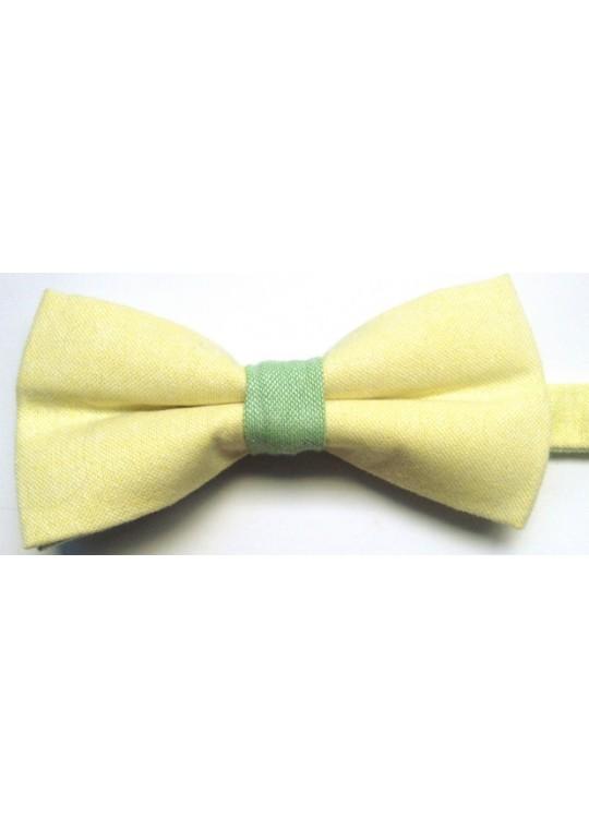 Pantera Bow Tie (Light Yellow)