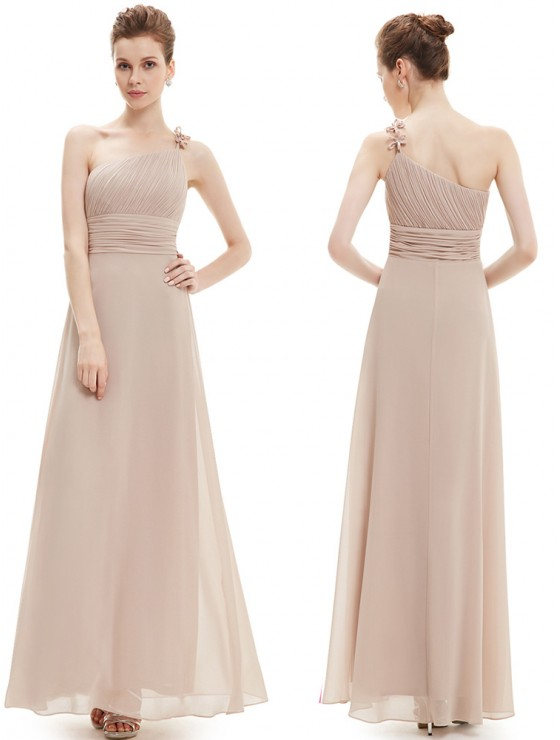 Giselle Dress (Beige)