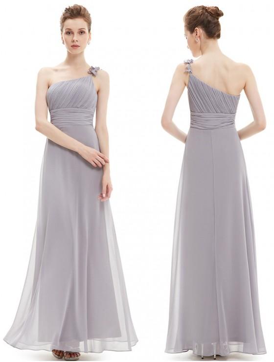 Giselle Dress (Soft Grey)