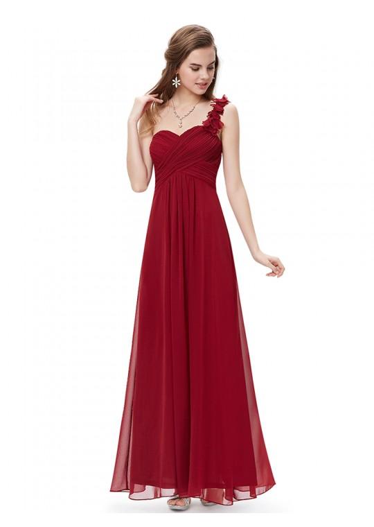 Candelaria Dress (Maroon)