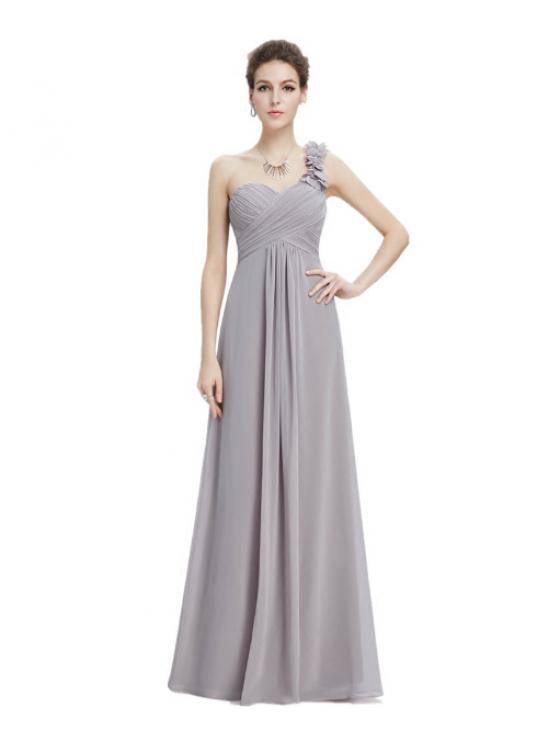 Candelaria Dress (Soft Grey)