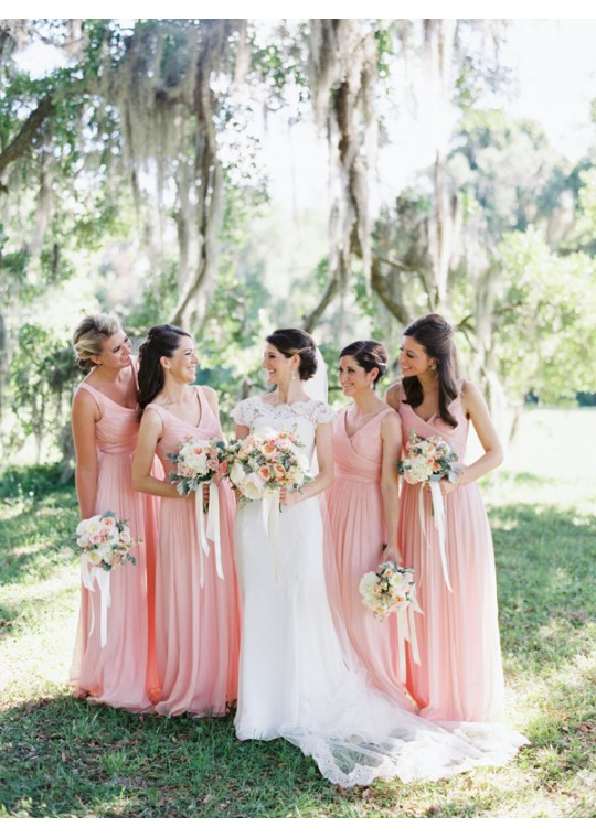 Leanna Dress (Soft Pink)