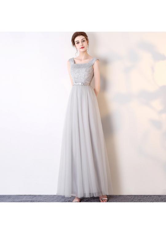 Henya Dress (Soft Grey)
