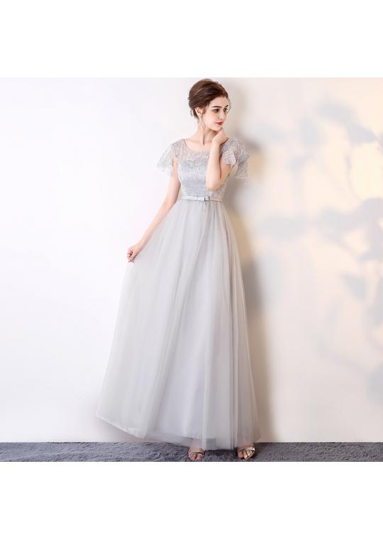 Haydee Dress (Soft Grey)