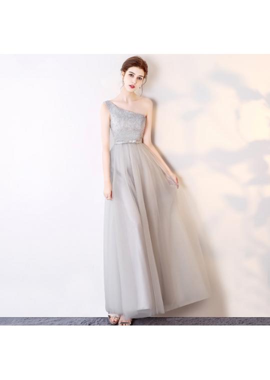 Hazel Dress (Soft Grey)