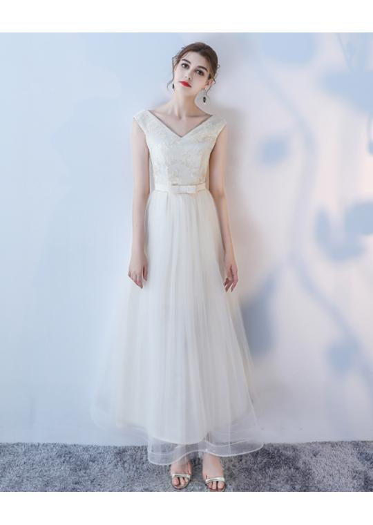 Kalea Dress (Champagne)