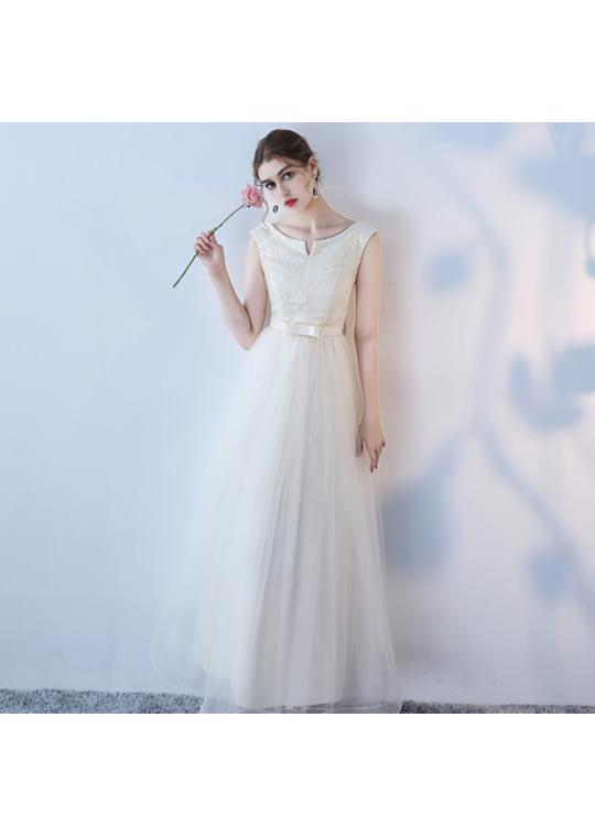 Keona Dress (Champagne)