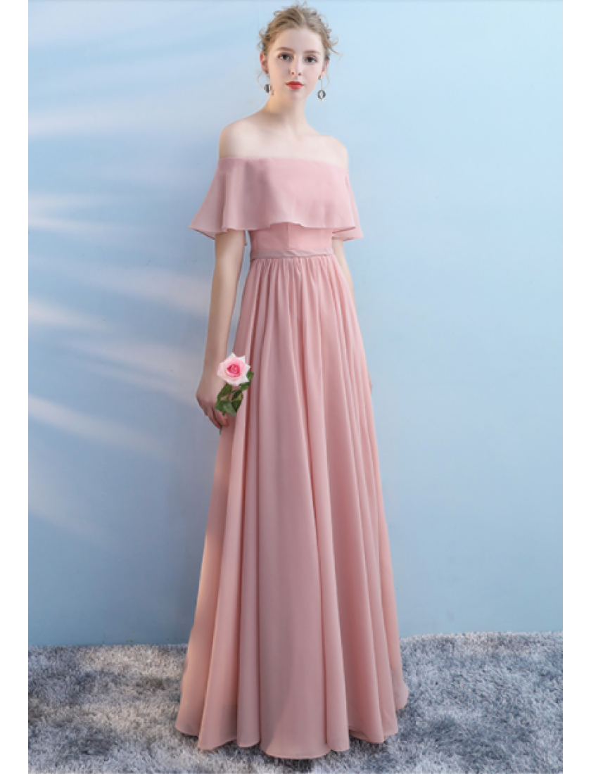 Audrey Dress (Dusty Pink)