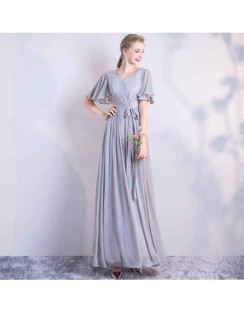 Molly Dress (Soft Grey)