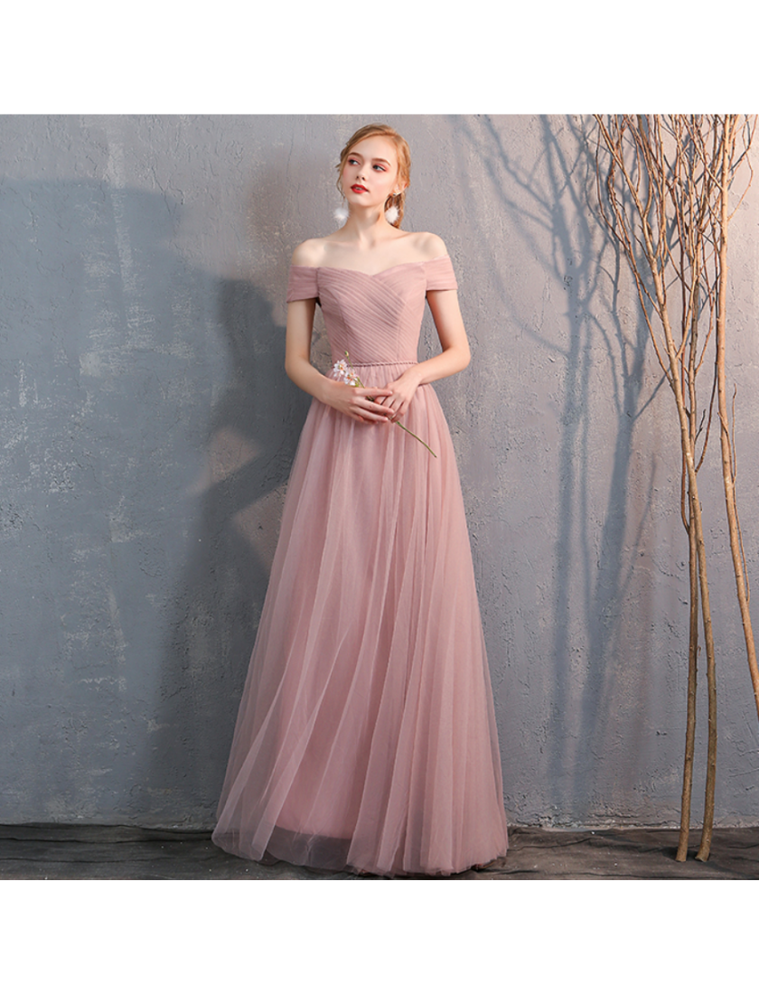 Bella Dress (Dusty Pink)