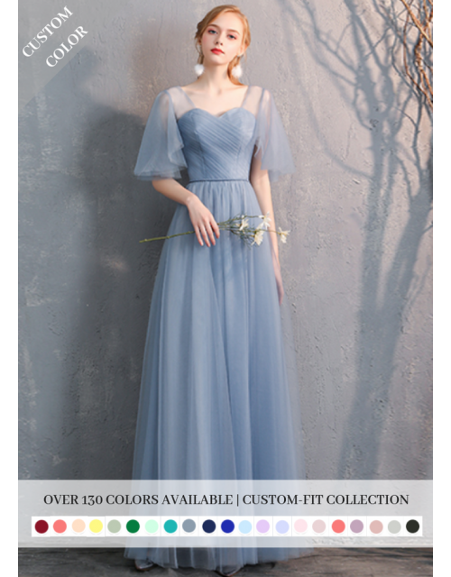Gianna Dress (Custom Color)