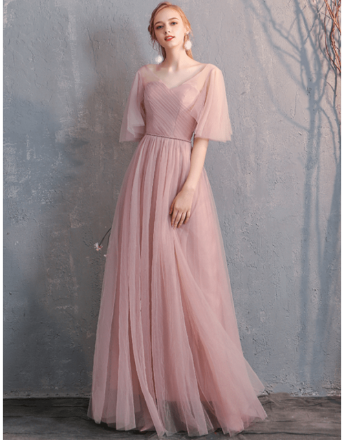 Gianna Dress (Dusty Pink)
