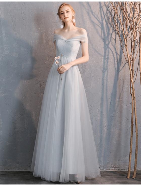 Arianna Dress (Light Grey)